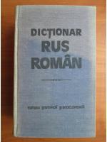 Gheorghe Bolocan - Dictionar Rus-Roman (1985, 60.000 de cuvinte)