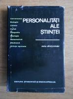 Gheorghe Bratescu - Personalitati ale stiintei. Mic dictionar