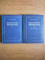 Anticariat: Gheorghe Buzdugan - Rezistenta materialelor (2 volume)