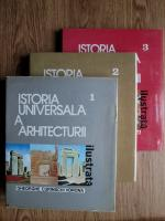 Anticariat: Gheorghe Curinschi Vorona - Istoria universala a Arhitecturii (3 volume)