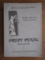Gheorghe Diaconescu - Drept penal (volumul 1)