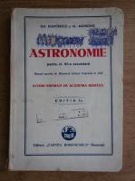 Gheorghe Dumitrescu - Astronomie pentru clasa a VII-a secundara (1942)