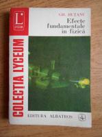 Anticariat: Gheorghe Hutanu - Efecte fundamentale in fizica