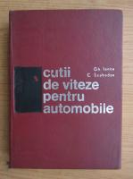 Gheorghe Iancu - Cutii de viteze pentru automobile