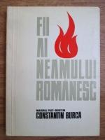 Anticariat: Gheorghe Ionita - Fii ai neamului romanesc. Maiorul post-mortem Constantin Burca