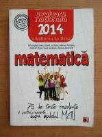 Gheorghe Iurea - Matematica. Evaluarea nationala 2014, clasa a VIII-a