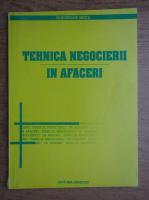 Anticariat: Gheorghe Mecu - Tehnica negocierii in afaceri