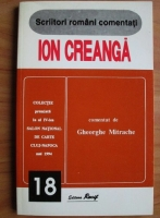 Anticariat: Gheorghe Mitrache - Ion Creanga