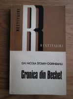 Anticariat: Gheorghe Nicola Stoian Ogrineanu - Cronica din Bechet. De neamul ogrinenilor