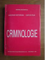 Gheorghe Nistoreanu - Criminologie