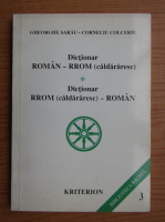 Gheorghe Sarau - Dictionar roman-rrom. Dictionar rrom-roman