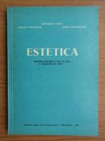 Anticariat: Gheorghe Stroia - Estetica. Manual pentru clasa a XII-a a liceelor de arta (1978)
