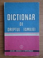 Anticariat: Gheorghe Tomsa - Dictionar de dreptul familiei