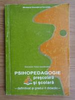 Gheorghe Tomsa - Psihopedagogia prescolara si scolara