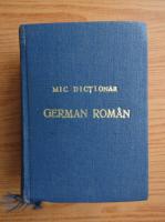 Gheorghina Hanes - Mic dictionar german-roman