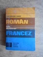 Gheorghina Hanes - Mic dictionar roman-francez