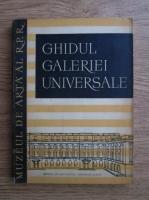 Anticariat: Ghidul Galeriei Universale