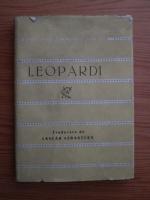 Anticariat: Giacomo Leopardi - Versuri