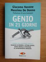 Anticariat: Giacomo Navone - Genio in 21 giorni