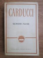 Giosue Carducci - Scrieri alese