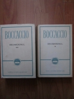 Giovanni Boccaccio - Decameronul (2 volume, coperti cartonate)