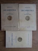 Giovanni Boccaccio - Decameronul (3 volume, 1932)