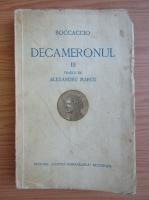 Giovanni Boccaccio - Decameronul (volumul 3, 1936)