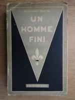 Anticariat: Giovanni Papini - Un homme fini (1938)