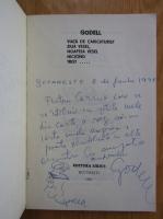 Anticariat: Godell - Viata de caricaturist, ziua vesel, noaptea vesel, nicicand trist (cu autograful autorului)