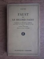 Goethe - Faust et le second Faust