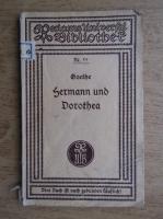 Goethe - Hermann und Dorothea