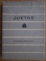 Goethe - Poezii (Colectia Cele mai frumoase poezii)