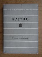 Goethe - Poezii