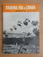 Anticariat: Gradina, via si livada, anul IX, nr. 11, noiembrie 1960