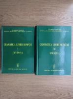 Gramatica limbii romane. Cuvantul. Enuntul (2 volume)