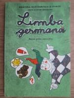 Grete Klaster Ungureanu - Limba germana. Manual pentru clasa a II-a