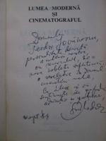 Grid Modorcea - Lumea moderna si cinematograful (cu autograful autorului)