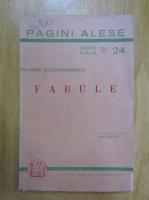 Grigore Alexandrescu - Fabule
