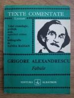 Anticariat: Grigore Alexandrescu - Fabule