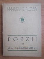 Grigore Alexandrescu - Poezii (1923)