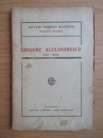 Grigore Alexandrescu - Poezii alese (1921)