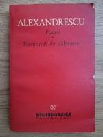 Grigore Alexandrescu - Poezii, Memorial de calatorie