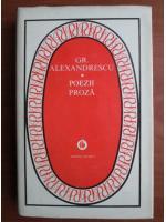 Anticariat: Grigore Alexandrescu - Poezii. Proza