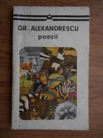 Grigore Alexandrescu - Poezii