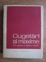 Grigore N. Crivianu - Cugetari si maxime