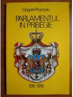 Anticariat: Grigore Procopiu - Parlamentul in pribegie