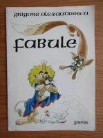 Grigorie Alexandrescu - Fabule