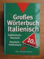 Anticariat: Grobes worterbuch italienisch, italienisch-deutsch