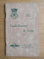 Anticariat: Guide-souvenir de Lyon (1930)