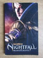 Guild Wars, nightfall, manuscripts